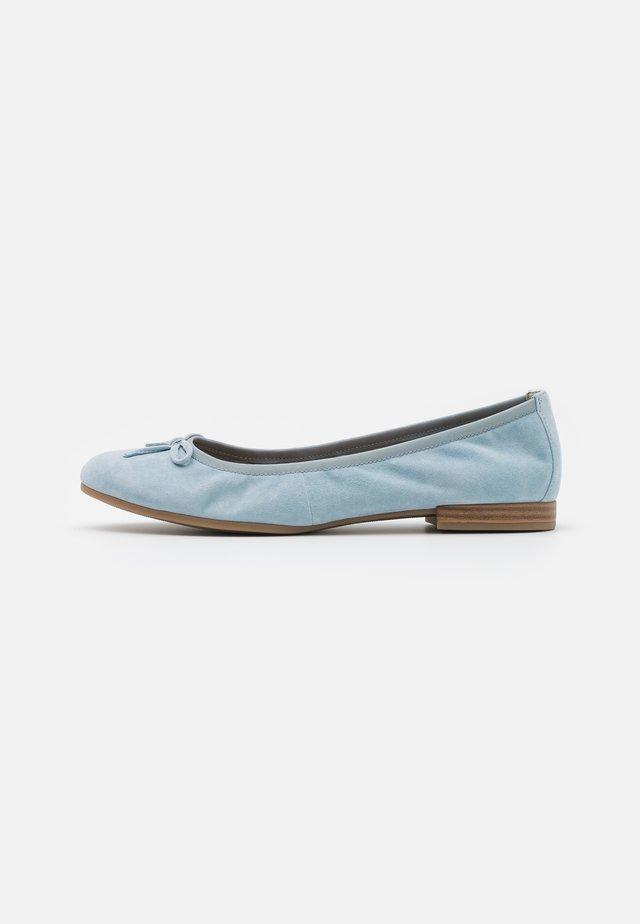 Ballerina's - light blue