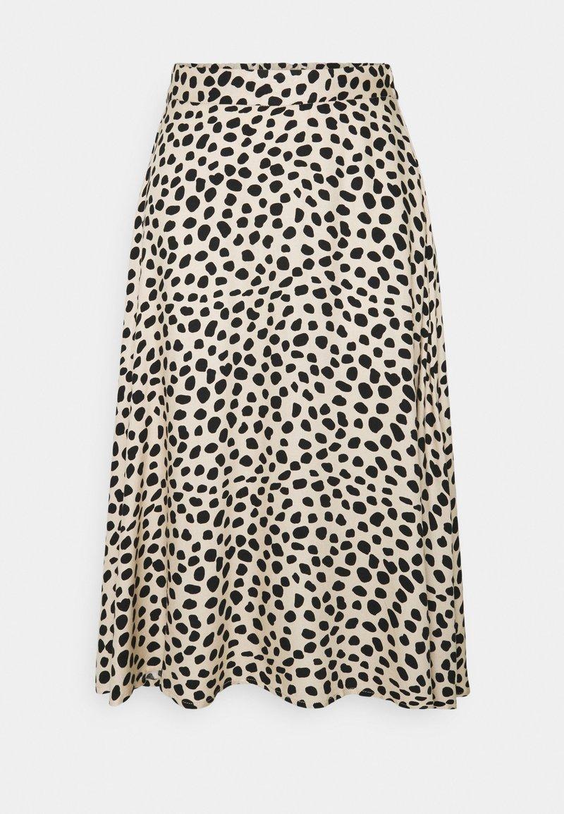 VILA PETITE - VIVISH MIDI SKIRT PETITE - A-line skirt -  black