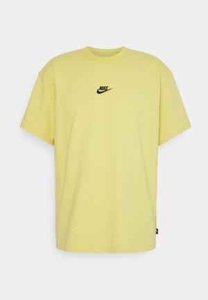 TEE PREMIUM ESSENTIAL - T-shirt - bas - saturn gold/black