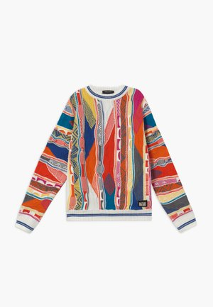 Jumper - white multicolour