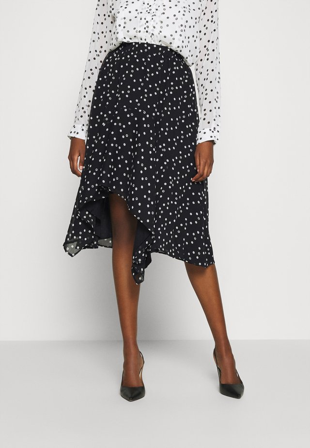 DOTTA MARILYN SKIRT - A-line skjørt - black