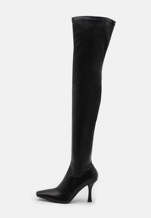 OPYUM - Over-the-knee boots - black
