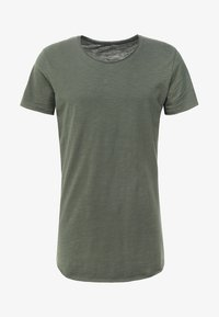 Jack & Jones - JJEBAS TEE - Basic T-shirt - thyme - 3