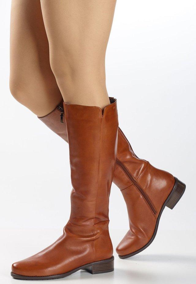 ORLANDO  - Boots - cognac