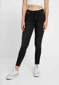 Dorothy Perkins Petite - ALEX - Jeans Skinny Fit - black - 0