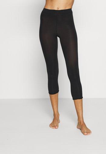 EASE - Leggings - Stockings - black