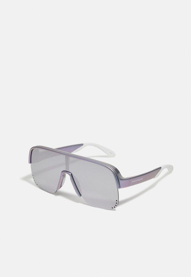 UNISEX - Zonnebril - violet/silver