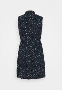 Anna Field Curvy - Vestido camisero - dark blue/ light grey - 1