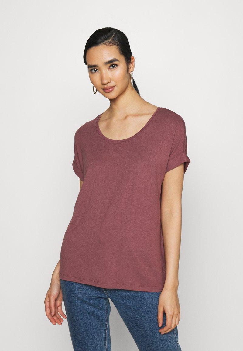ONLY - ONLMOSTER ONECK - T-shirt basic - rose brown