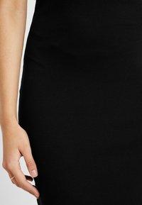 Even&Odd Tall - BASIC MAXI DRESS - Vestido largo - black - 6