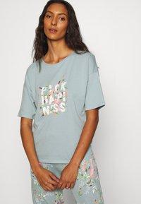 Marks & Spencer London - HAPPINESS - Pyjamas - aqua - 3
