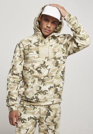 Hoodie - sand camouflage
