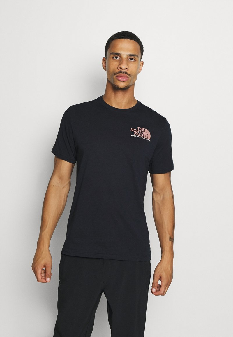 The North Face - GRAPHIC TEE - Print T-shirt - aviator navy