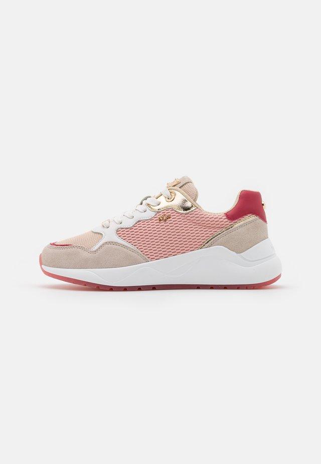 GOA - Baskets basses - beige/pink