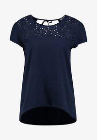 EMBRO ANGLAIS - Print T-shirt - navy