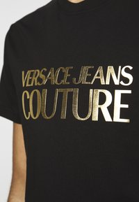 Versace Jeans Couture - MOUSE - T-shirt con stampa - black - 6