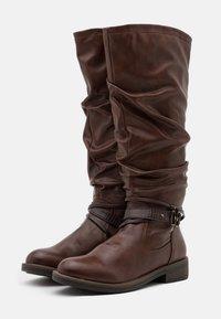 Tamaris - BOOTS - Støvler - brandy - 2