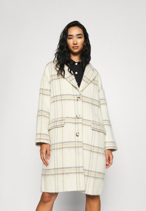 COCOON COAT - Mantel - whittier almond milk