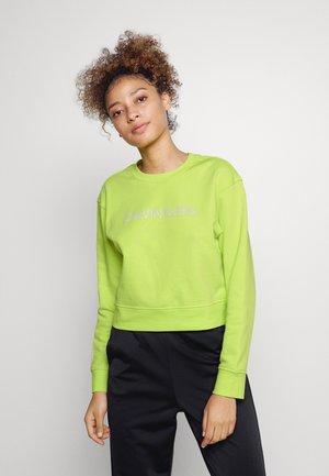 Sweatshirt - acid lime