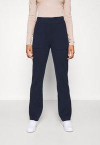 YAS - YASSANNA - Trousers - navy blazer - 0