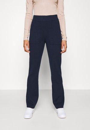 YASSANNA - Trousers - navy blazer