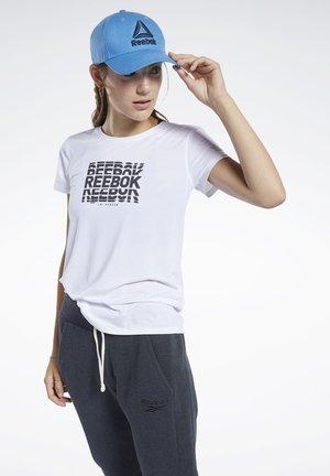 ACTIVCHILL GRAPHIC TEE - T-Shirt print - white
