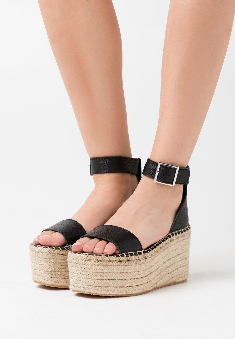 Zign - Sandali con tacco - black