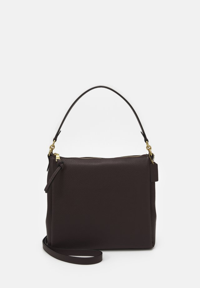 SHAY SHOULDER BAG - Handtas - oxblood