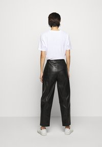 DESIGNERS REMIX - TALIA PANTS - Trousers - black - 2