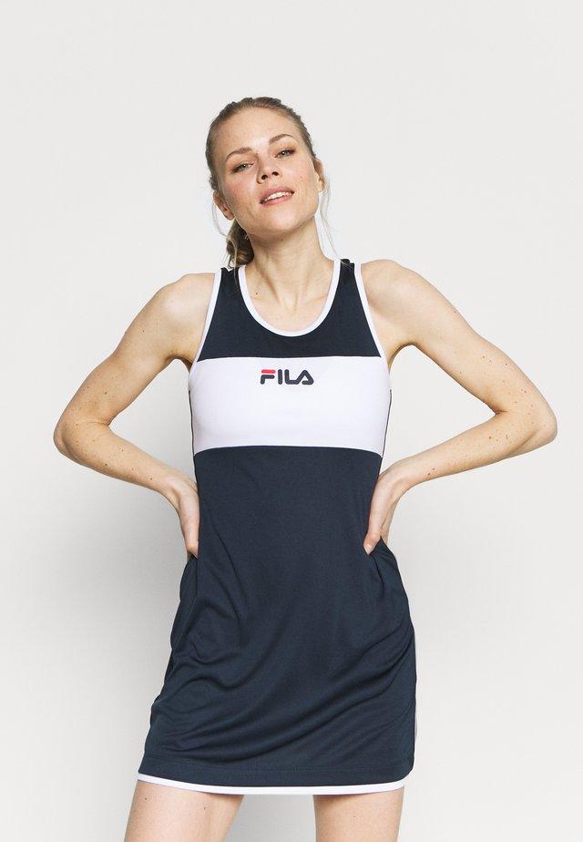 DRESS LOLA - Sportovní šaty - peacoat blue
