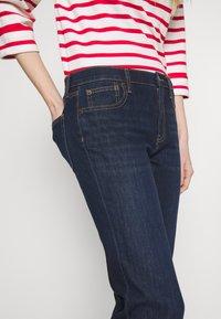 GAP - PEARL - Bootcut jeans - dark rinse - 3