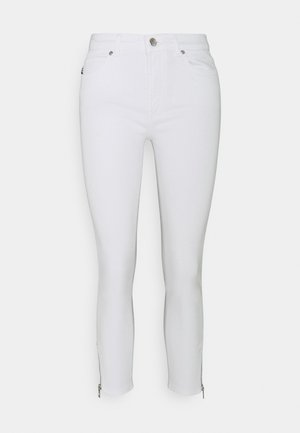 CHARLIE CROPPED - Jeans Skinny Fit - white