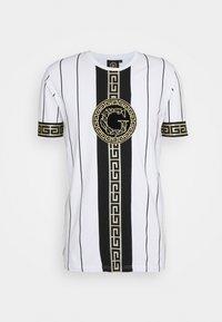 SANTAGO TEE - T-shirt imprimé - optic white