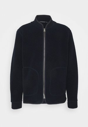 DUKE JACKET - Fleecejacka - navy