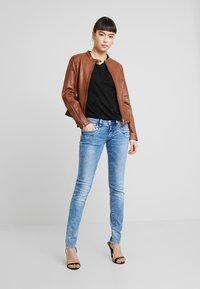 Freaky Nation - TULA - Leather jacket - cognac - 1