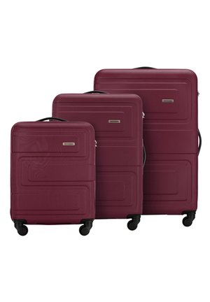 SET - Luggage set - burgund