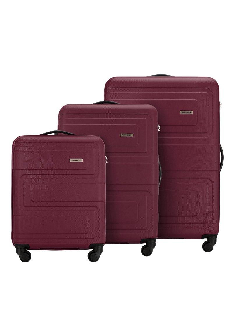Wittchen - SET - Luggage set - burgund