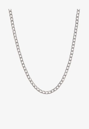 CLEAN FLAT CHAIN - Necklace - silver-coloured