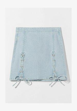 Áčková sukně - blue denim