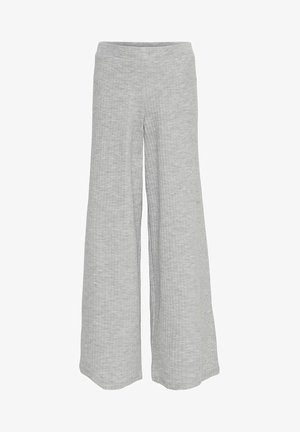 Stoffhose - light grey melange