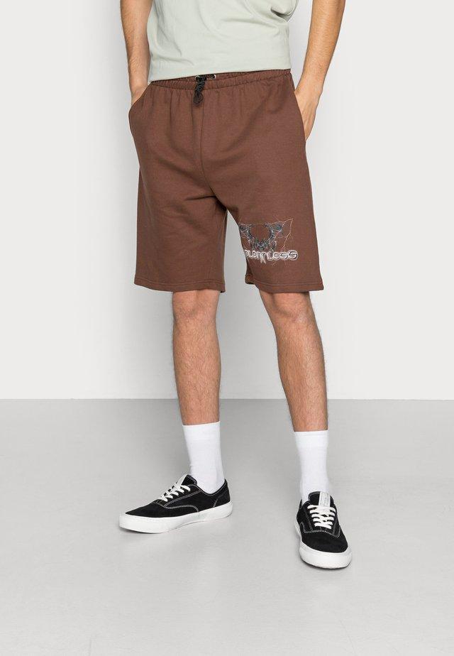 Shorts - chocolate brown