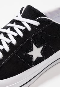 Converse - ONE STAR - Trainers - black/white - 5