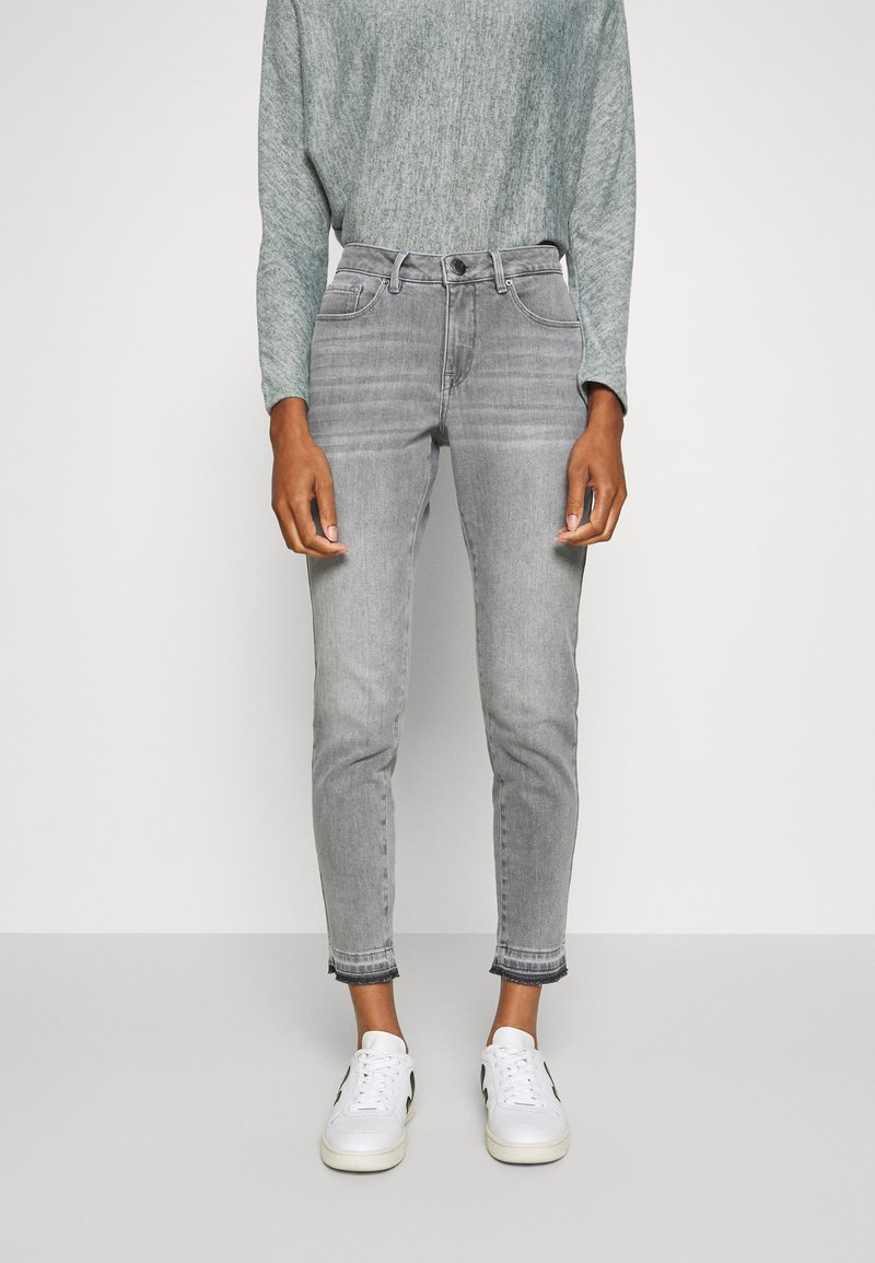 Opus - ELMA TINTED - Jeans Skinny - authentic grey
