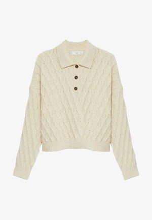 AZORES - Polo shirt - ecru