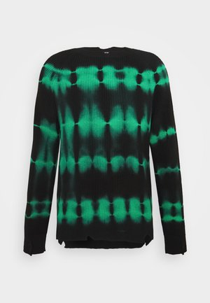 K-TONI UNISEX - Jumper - black/green