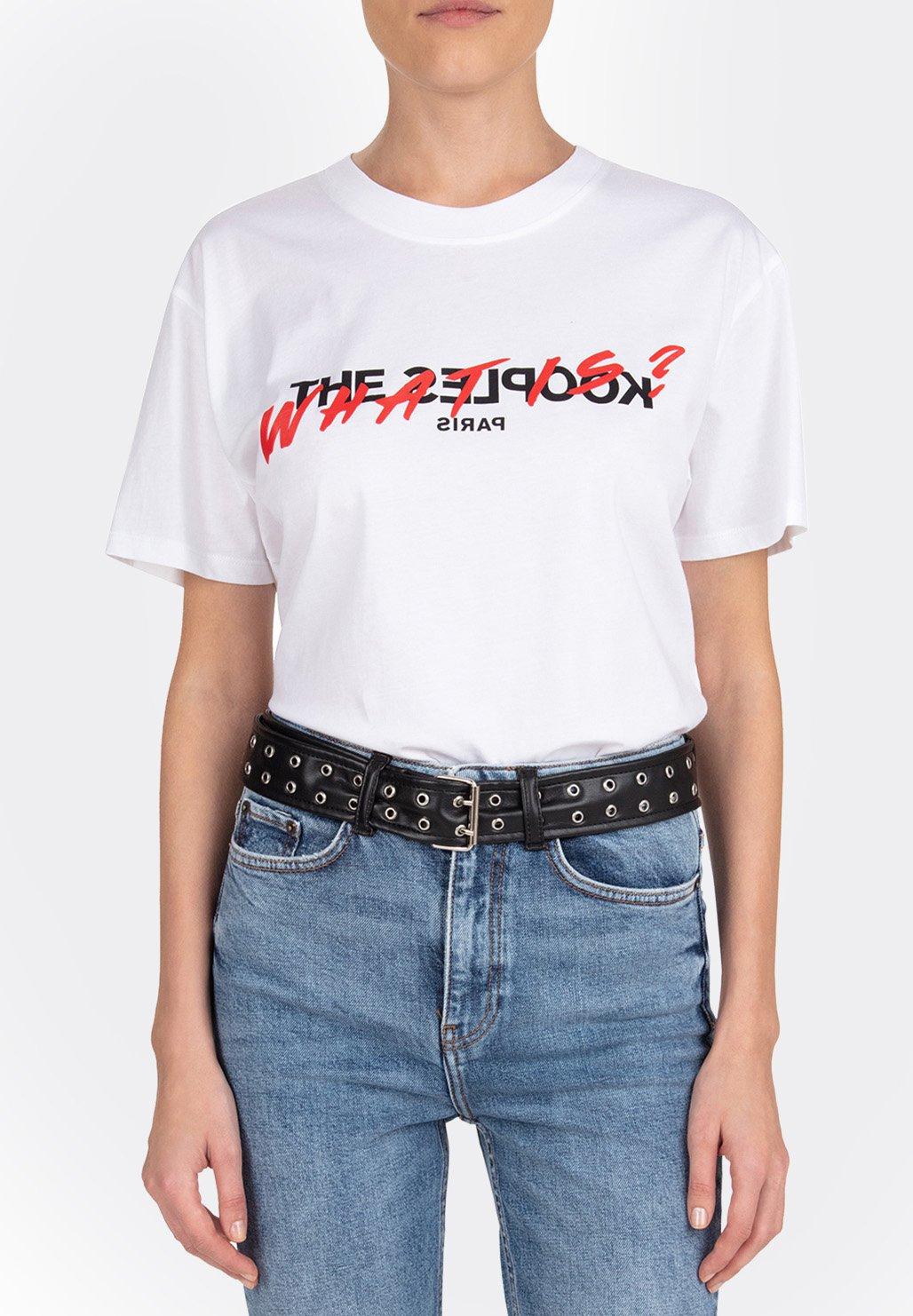 Women MANCHES COURTES  - Print T-shirt