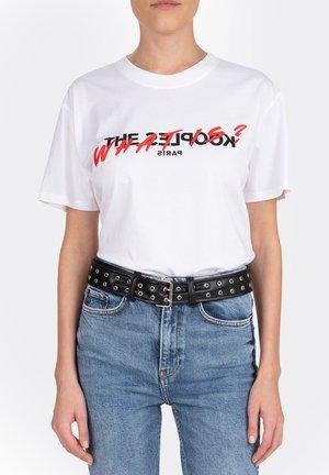 MANCHES COURTES  - T-shirt imprimé - white