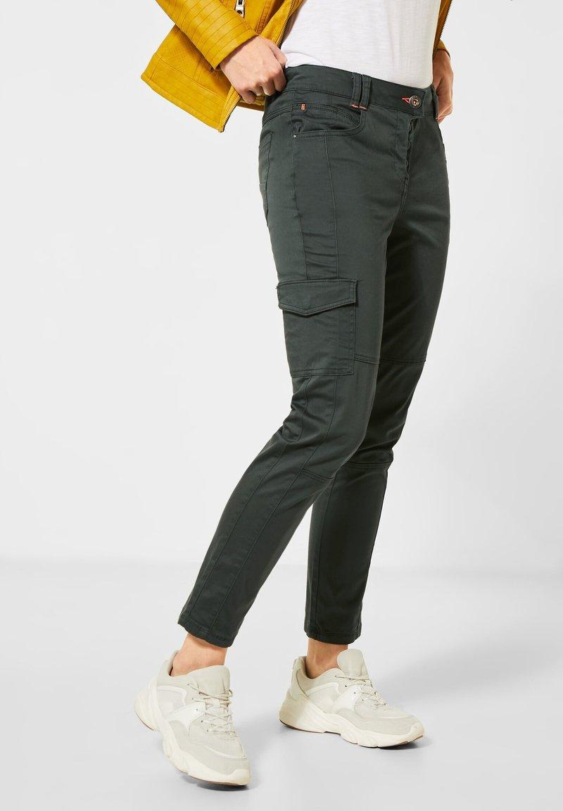 Cecil - Cargo trousers - grün