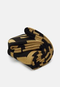 Versace Jeans Couture - UNISEX - Scarf - black/gold-coloured - 4