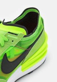 Nike Sportswear - WAFFLE ONE - Trainers - electric green/black/mean green/hyper crimson-white-orange - 7